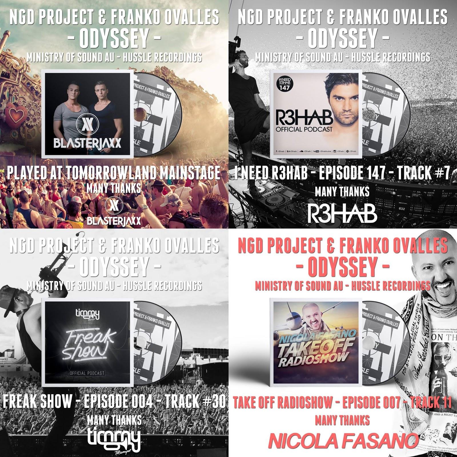 NGD Project Tomorrowland EDM R3hab Timmy Trumpet Odyssey Blasterjaxx Michael Gadani Alberto Tavanti