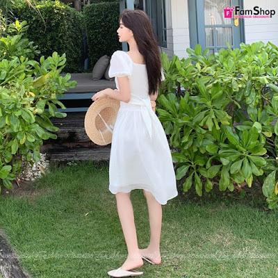 Shop bán váy maxi đi biển tại Hàng Muối