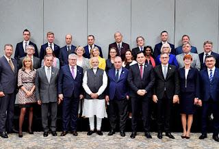 India-EU Leaders Meeting