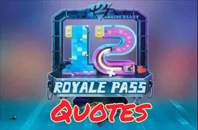 Pubg Mobile Season 12 Quotes 2020