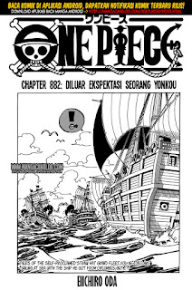 One Piece Chapter 882 Bahasa Indonesia