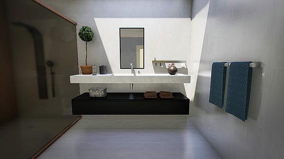 change bathroom mirror light