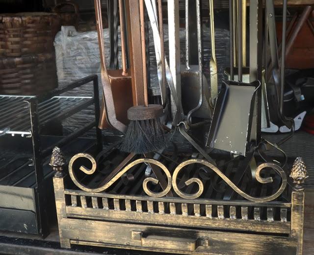 artesanato em ferro na Feira de Espinho