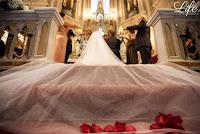 casamento com cerimonia na igreja do santissimo sacramento e santa teresinha e recepção no salão por-do-sol da aabb porto alegre com decoração sofisticada em tons outonais terrosos e dourado por life eventos especiais