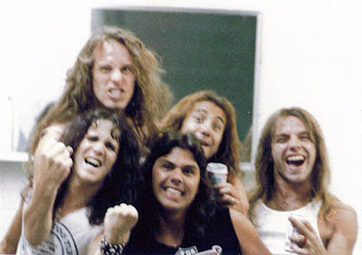 TT Quick opened up for Ted Nugent... I'm gonna say back on September 16, 1982 at the Convention Hall in Asbury Park, New Jersey... too cool hangin' with the motor city madman!!! When Ted played Great Adventure in 1984 Yngwie Malmsteen when he was in the band Alcatrazz opened up for Ted.