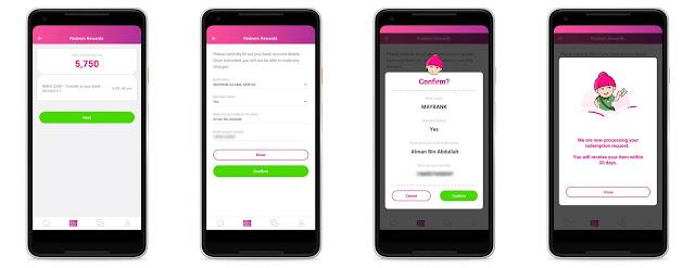 Cara Redeem Reward Daripada Aplikasi JAG Malaysia