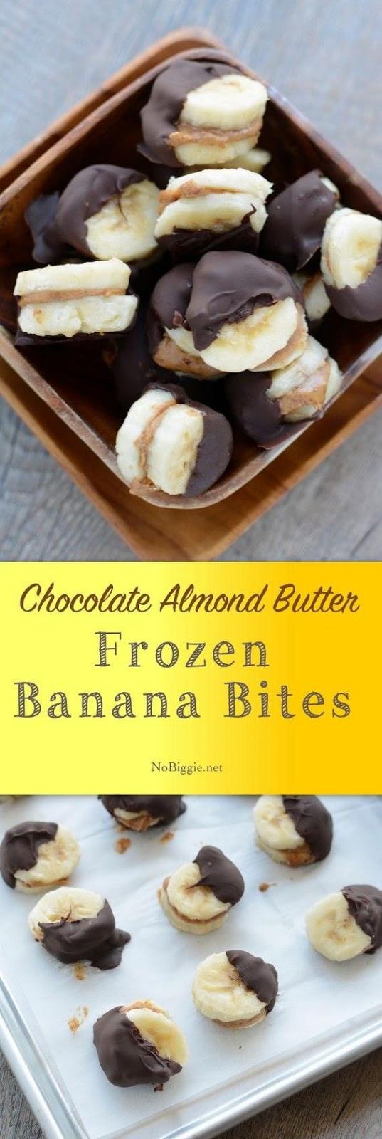 Frozen Banana Bites #frozen #banana #bites #healthysnack #healthysnackideas #healthyfood #healthyrecipes