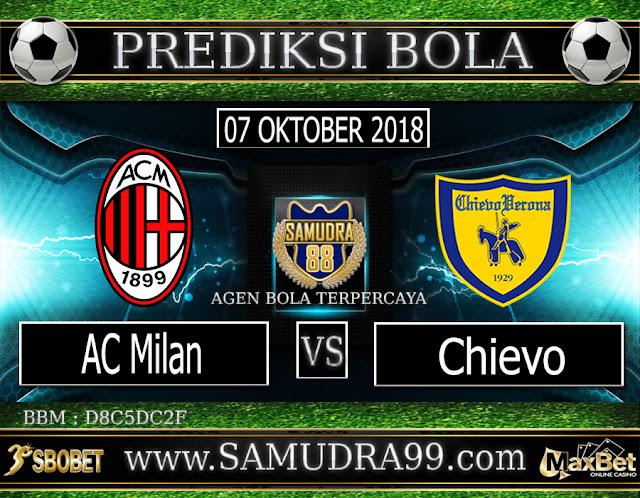 PREDIKSI TEBAK SKOR JITU AC MILAN VS CHIEVO 07 OKTOBER 2018