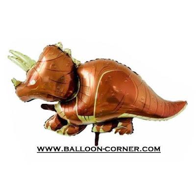 Balon Foil Dinosaurus Triceratops