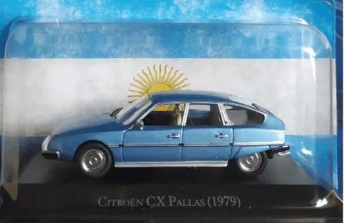 citroën cx pallas 1:43, citroën cx pallas 1:43 1979, citroën cx pallas 1979 autos inolvidables argentinos, autos inolvidables argentinos salvat