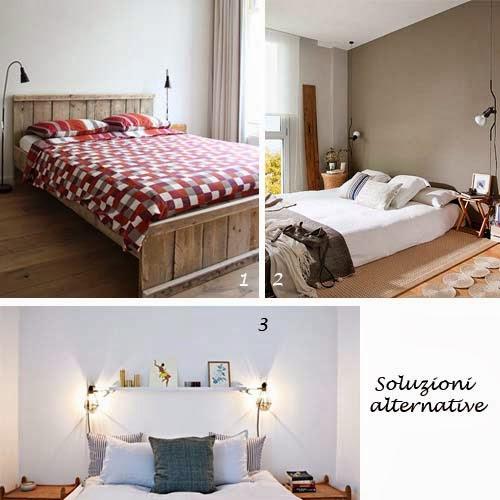 Scegli la lampada per il comodino arredamento facile for Mensola sopra letto