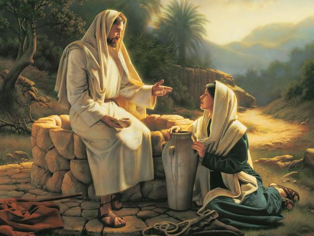 O ENCONTRO DE JESUS E A SAMARITANA