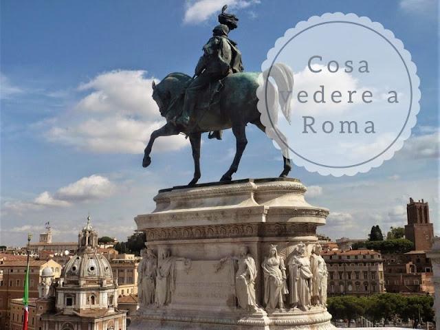 cosa vedere a Roma: statua equestre al Vittoriano