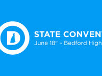 2016 NHDP State Convention Saturday, June 18th 2016 Bedford High School-Doors Open 8am