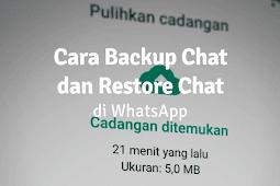 Cara Backup Chat WhatsApp ke HP Lain dan Cara Restore Chat WhatsApp