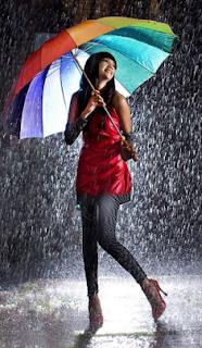 mimpi membuka payung