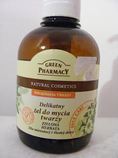 Green Pharmacy Delikatny żel do mycia twarzy Zielona Herbata