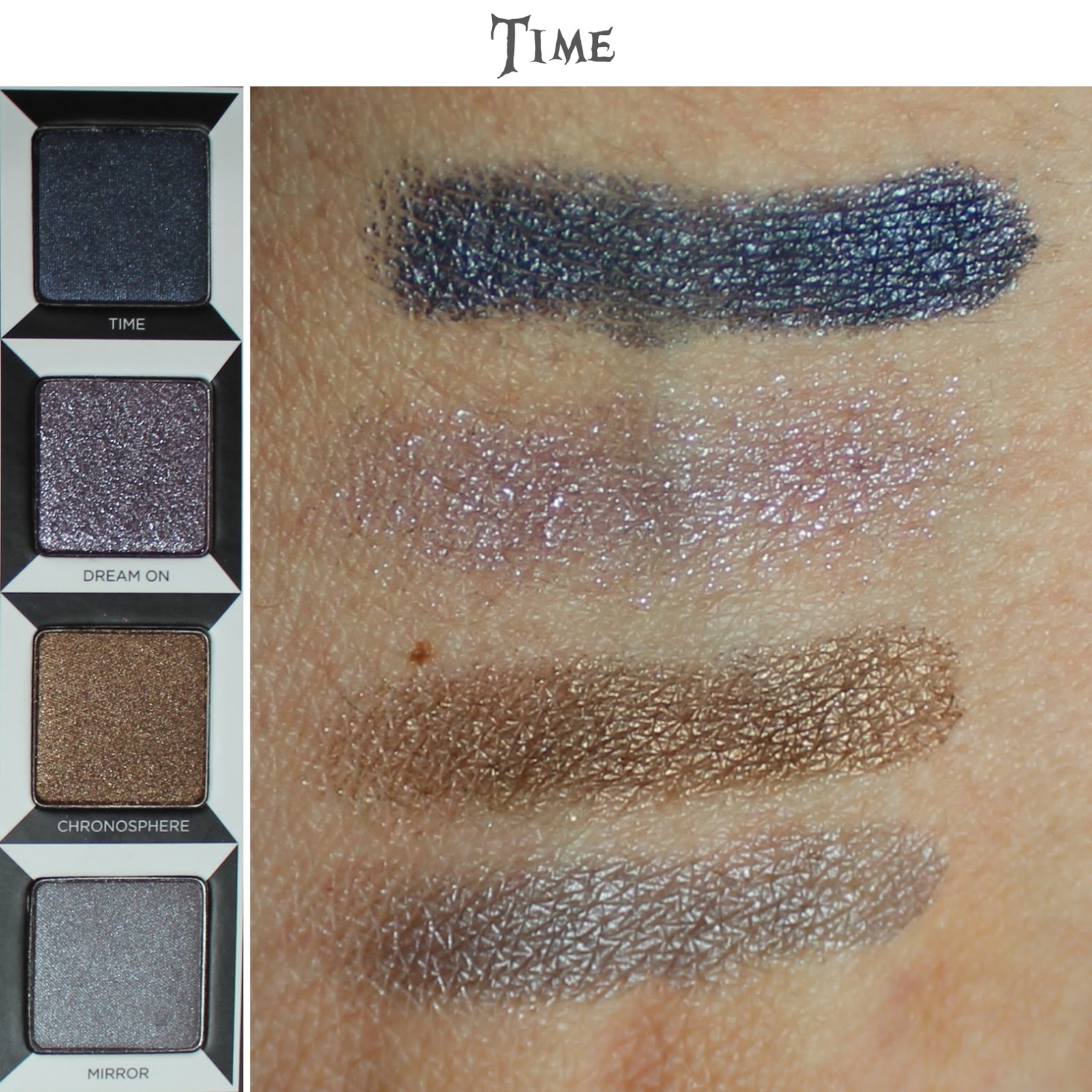 Urban Decay Alice Through the Looking Glass Palette time