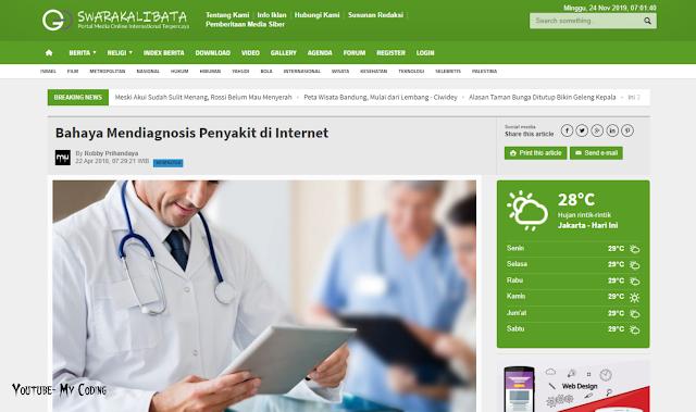 CMS Portal Informasi dan Berita Online