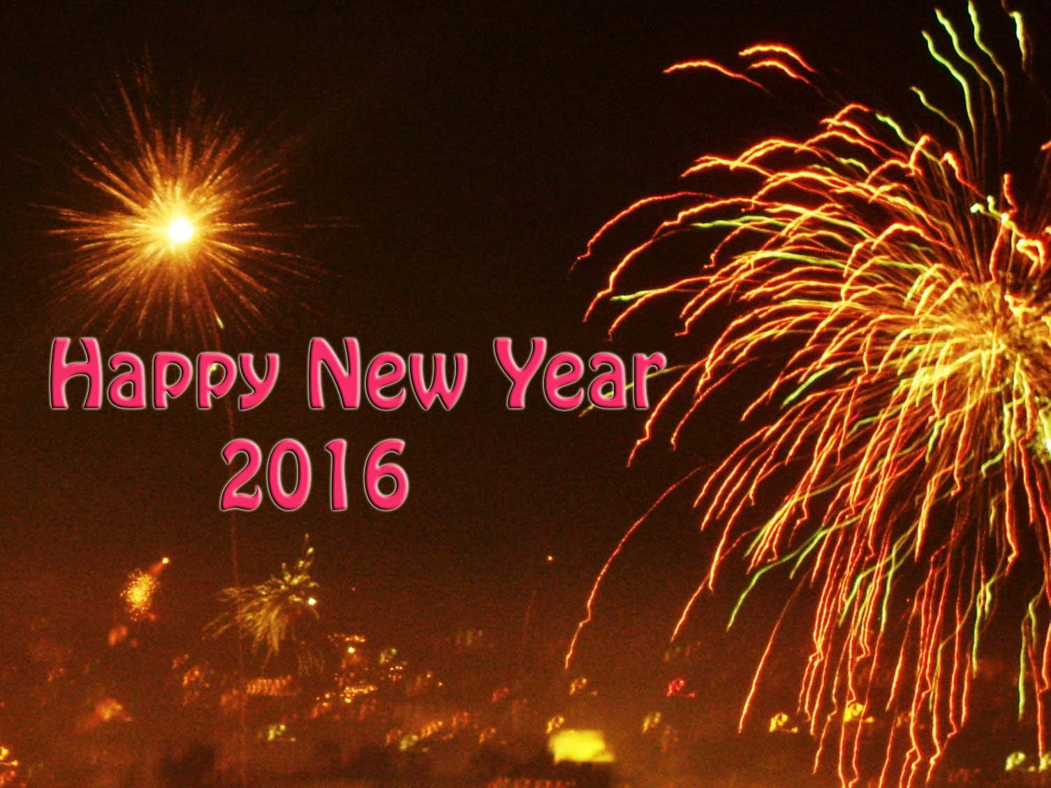 Happy New Year 2016 Awesome Wallpapers Collection (Top 20