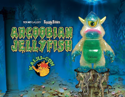 Kaiju-Con Exclusive Stroll Arcoobian Jellyfish Edition Vinyl Figure by Spanky Stokes x Toy Art Gallery