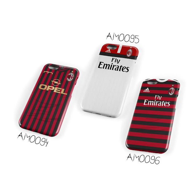 case handphone jersey ac milan