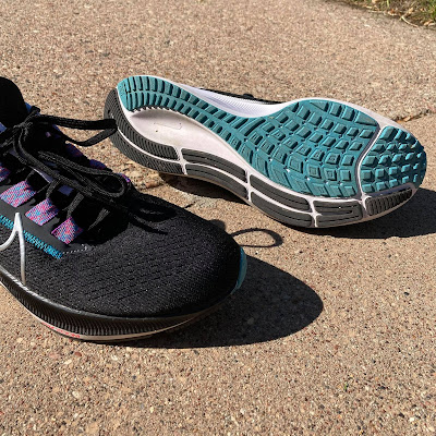 Outsole waffle view of the Pegasus 38