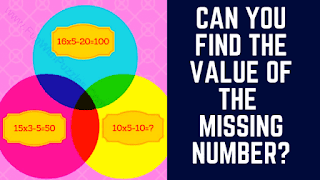 In these Logical Maths Puzzles, your challenge is to find the value of the missing number
