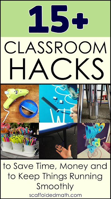 Classroom hacks to save you time, money and to help make your teaching job a little easier.