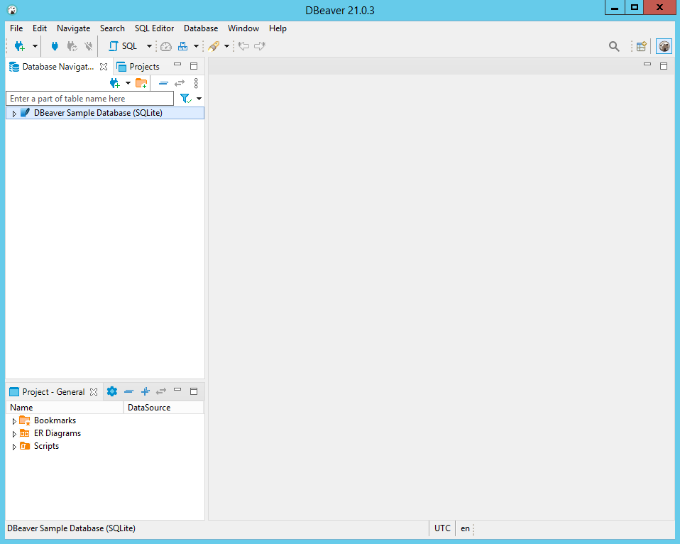 DBeaver 21.0.3