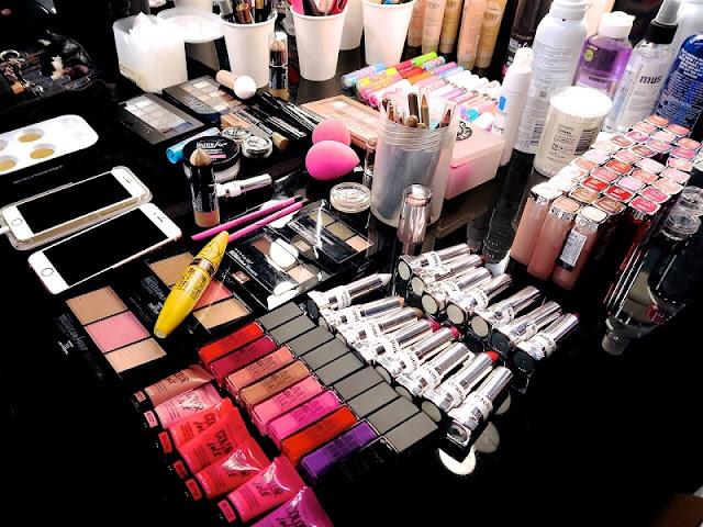 Compras de maquiagens Maybelline em Miami e na Flórida