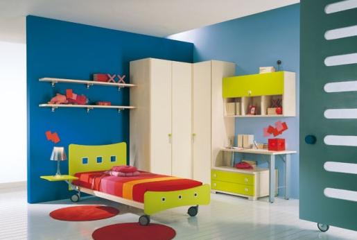 desain tempat tidur keren untuk anak