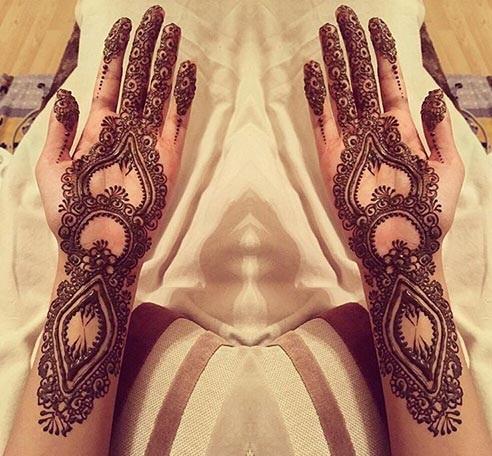 Mehndi Design For Wedding