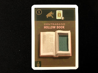 The Hollow Book, one of the gear items from Caper.