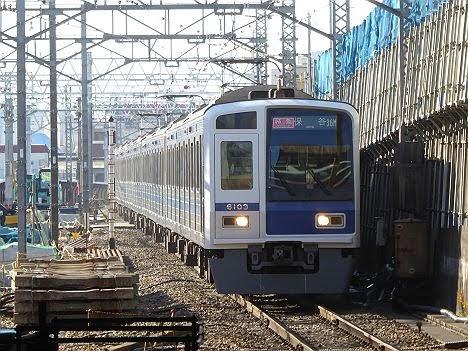 【ダイヤ改正で日中消滅!】西武6000系の特急 保谷行き