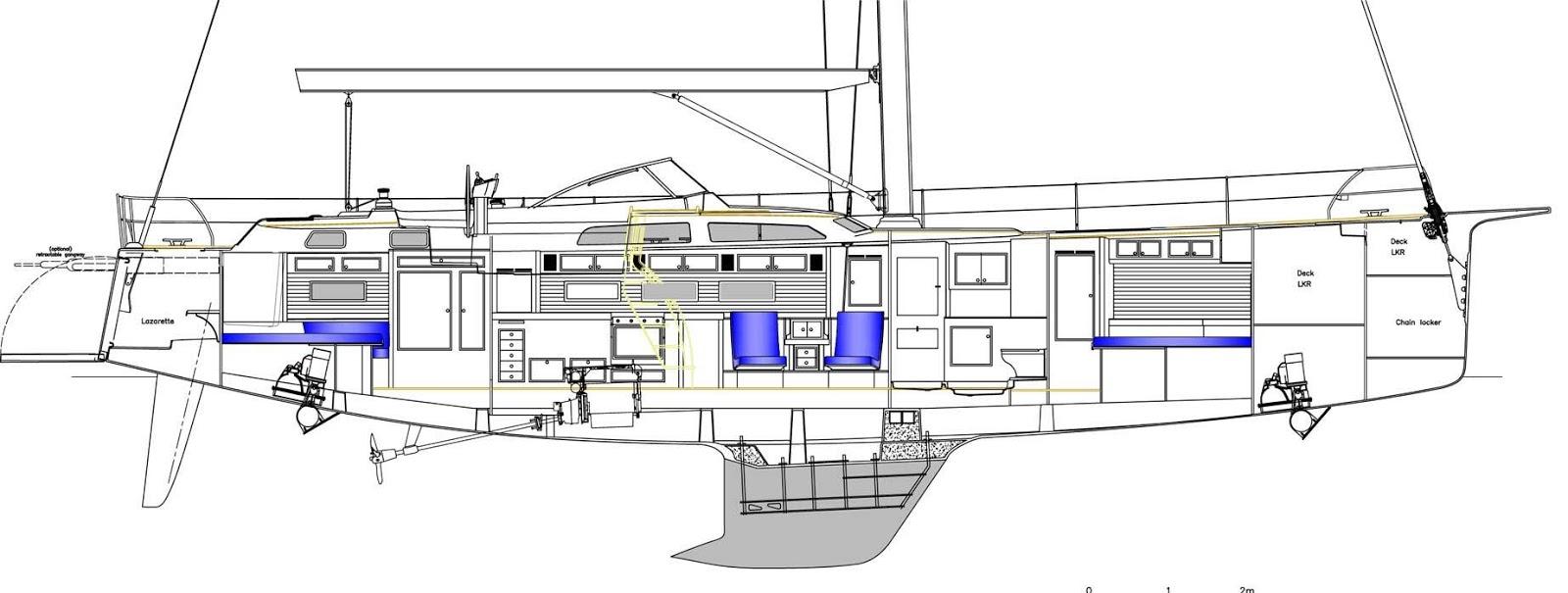 Interesting Sailboats: HALLBERG RASSY 57: BEAUTIFUL AND FAST