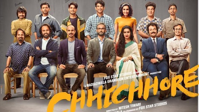Download Chhichhore (2019)[Hindi - 720p HQ DVDScr - x264 - 1.2GB].mkv