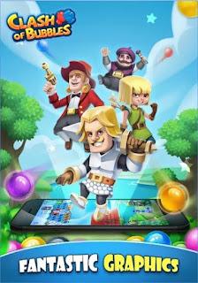 Game Clash of Bubbles App