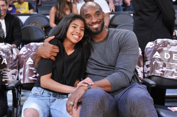 Image Attribute: The file photo of Kobe Bryant and his 13-year old daughter Gianna