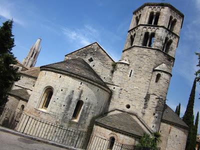 Sant Pere de Galligants monastery in Girona