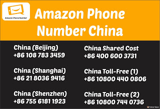 Amazon Phone Number China
