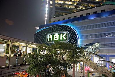MBK shopping center in Bangkok