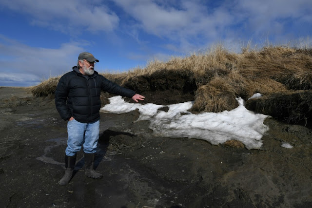 Alaska's thaw threatens prehistoric sites once frozen in time