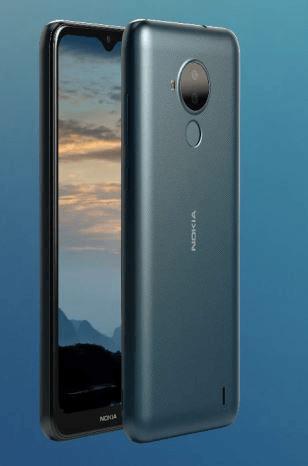 Nokia C30 Green