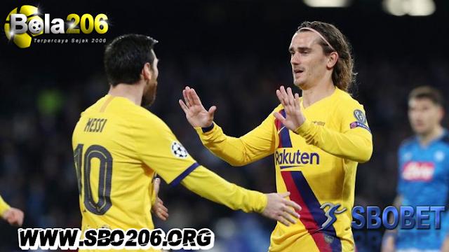 Griezmann Dan Messi Ribut Besar