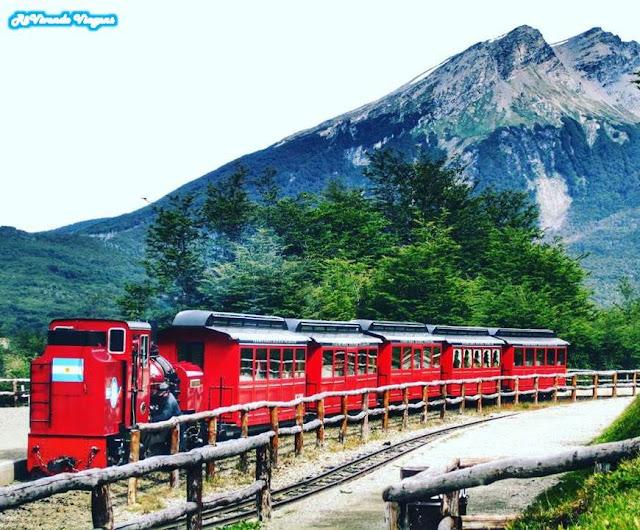 Trem do Fim do Mundo Ushuaia Patagonia Argentina