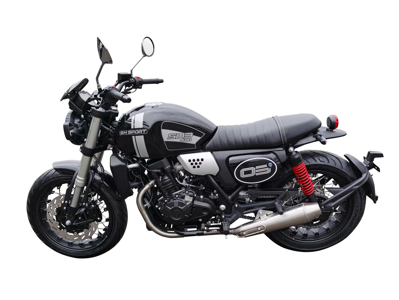 Spesifikasi SM Sport SM3, Motor Klasik Mesin Modern 2 Silinder