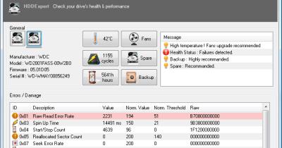 Hddexpert infos einer festplatte abrufen freeware for Klassisches haushaltsbuch