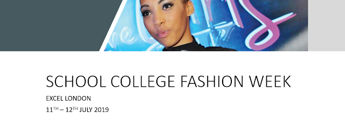 Don't miss School College Fashion Week at Excel London this July!