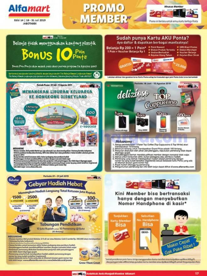 Katalog Promo Alfamart Terbaru 16 - 31 Juli 2019 - scanharga.com | Katalog Promo Indomaret